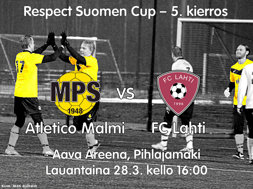 Atletico Malmi - FC Lahti 28.3.2015