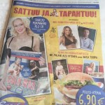 Tapahtuma oli esillä näkyvästi mm. Helsingin Sanomien etusivulla