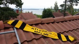 Atletico on käynyt Messilässä jo ties kuinka monena keväänä, joten pakkohan kaulaliinakin oli päästä mukaan
