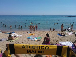 Tico-huivi nautti kesällä Espanjan lämmöstä ja maisemista
