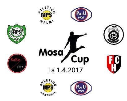 Mosa Cup 2017 - Joukkueet