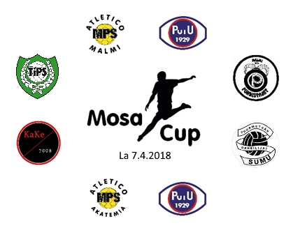 Mosa Cup 2018 - Joukkueet
