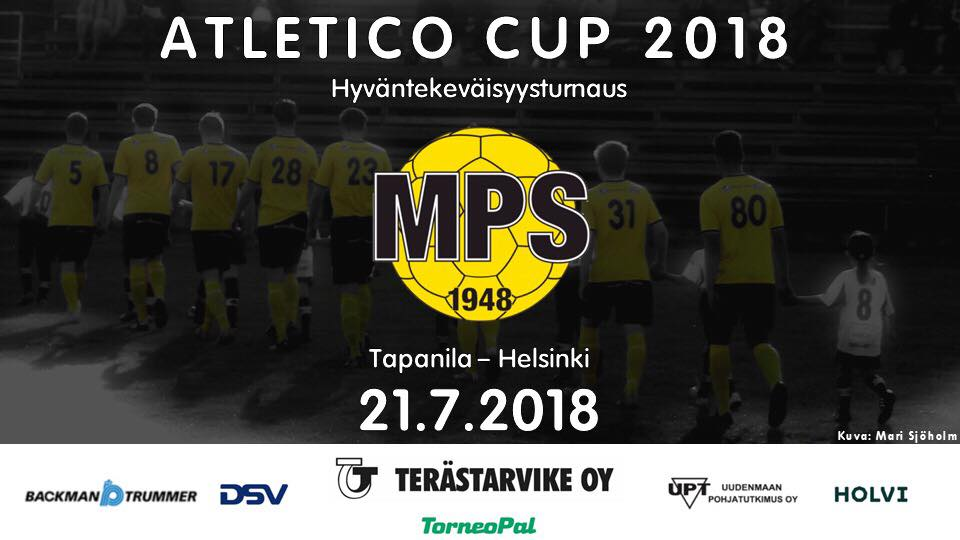 Atletico Cup 2018 hyväntekeväisyysturnaus Tapanila 21.7.2018