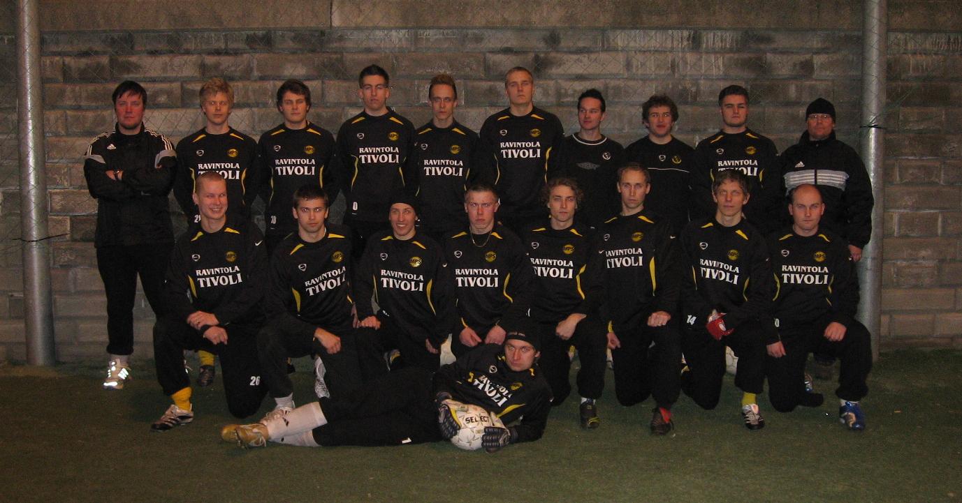 Atletico Malmi joukkuekuvassa vuonna 2008