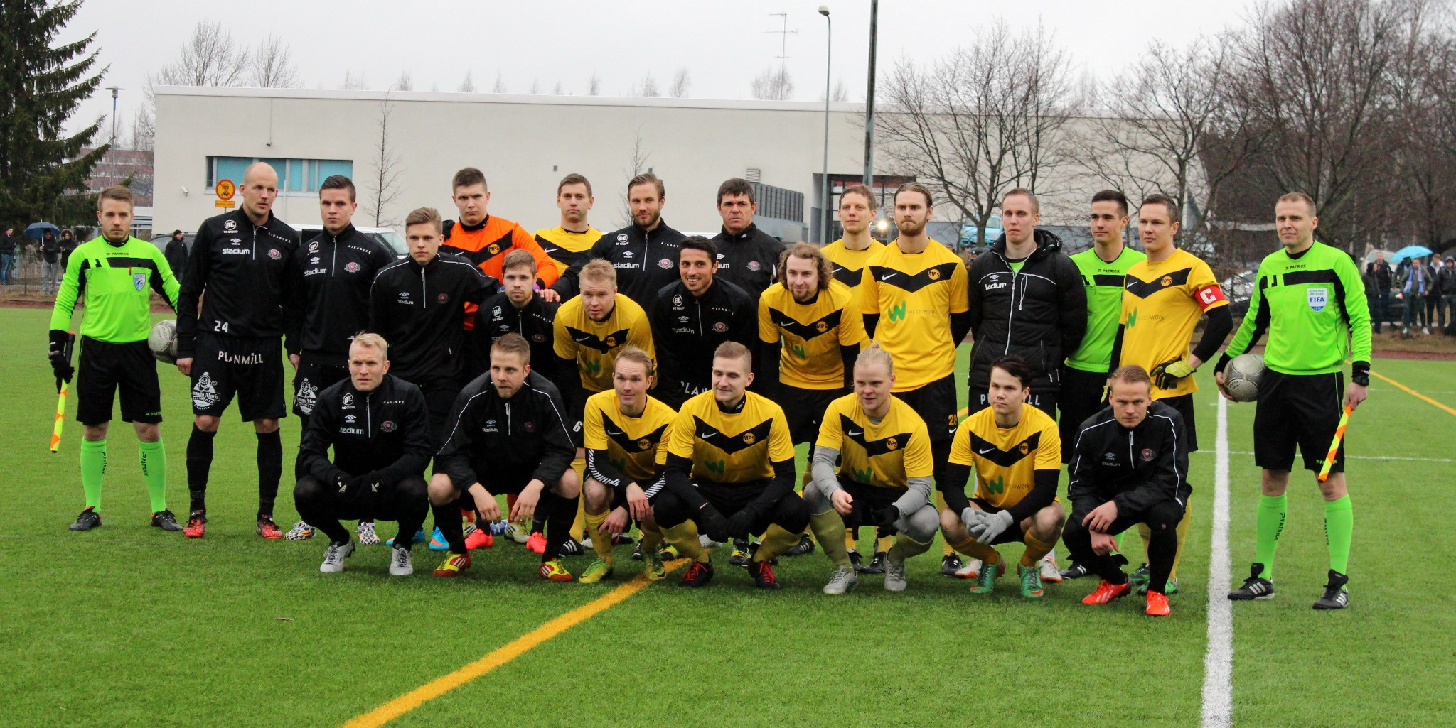 Atletico Malmi vs. FC Lahti Suomen Cup 2015
